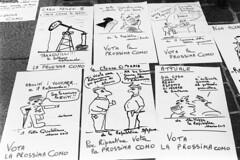 Il vignettista satirico (sirio174 (anche su Lomography)) Tags: vignettista satira vignette como campagnaelettorale disegno disegnatore