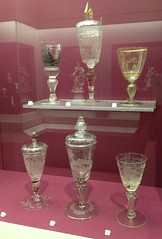Visiting an Old Friend (Melinda Stuart) Tags: pokal glass goblet wine vessel museum legionofhonor sanfrancisco exhibit case antique treasure franzsichel collection artifacts rare verzellini sylviasichel gilded inscribed venetian england fragile sichelcollection famsf 1500s