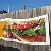 Vinyl banner of food. (Tim Kiser) Tags: 2014 20140907 allencounty allencountyindiana blt baconclubhouse baconclubhousesandwich eastrudisillboulevard fortwayne fortwayneindiana img4361 indiana mcdonalds mcdonaldsbaconclubhouse mcdonaldsadvertisement mcdonaldsbanner mcdonaldsfood pvc pvcbanner rudisillboulevard s100849e september september2014 advertisingbanner bacon baconlettucetomato banner churchsteeple cloudlesssky electriclines fence lettuce northindiana northeastindiana northeasternindiana northernindiana outdooradvertisement outdooradvertising overheadelectriclines overheadpowerlines pictureofasandwich pictureoffood polyvinylchloride polyvinylchloridebanner powerlines sandwich sandwichadvertisement steeple sunny tomato vinylbanner woodenfence