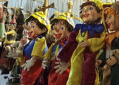 Marionettes (Leaning Ladder Photography) Tags: prague praha czech czechrepublic marionette faces puppets leaningladder bohemia