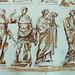 ITALIE 17e - Huit Statues d'Après l'Antique (drawing, dessin, disegno-Louvre  INV12865) - Detail 07