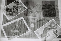Fellini Multiple Exposures (goodfella2459) Tags: nikon f4 af nikkor 50mm f14d lens ilford delta 3200 35mm blackandwhite film analog multiple exposure experimental abstract lastrada federico fellini giulietta masina casanova bwfp milf