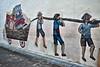 Mural Wall (chooyutshing) Tags: streetart backlane trengganustreet chinatown singapore