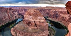 Horseshoe Bend, Az (jde95tln) Tags: page az horseshoe bend sunset river pano exploring explore nature