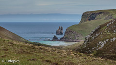 Sea Stacks on the Way to Cape Wrath Lighthouse. (judepics) Tags: cape wrath sea stack assynt beach cliffs scotland