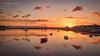 Magical sunset... (moraypix) Tags: magicalsunset findhorn findhornbay summerevening goldenlight beautifulsunset shangrila sunsetcolours boats settingsun jimmacbeath moraypixphotography