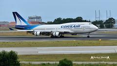 F-HSEA -  Corsair Boeing 747-400 (José M. F. Almeida) Tags: lppt lis lisboa lisbon aircrafts airport fhsea boeing747400 corsair