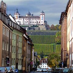 Würzburg, Festung Marienberg (pom.angers) Tags: panasonicdmctz30 october 2013 würzburg lowerfranconia unterfranken bayern bavaria germany deutschland europeanunion castle vineyard 100 150 200 300 5000 16thcentury