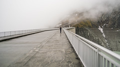Grande Dixence (.christoph.G.) Tags: schweiz swiss lac des dix grande dixence dam concrete gravity val dhérémence valais tallest 285 meter 935 ft high europe hydroelectric power sa wallis canon fd 28mm ƒ28 panorama