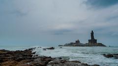 Thiruvalluvar Statue (SamDop) Tags: nikon d5000 nikkor 55200mm kanyakumari tamil nadu india thiruvalluvar