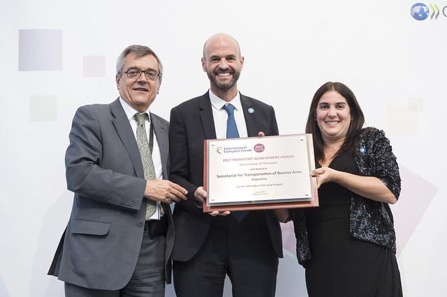 2017 Transport Achievement Award Winner: Secretariat for Transportation of Buenos Aires