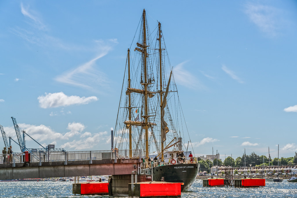 PELICAN OF LONDON [TALL SHIPS LEAVING DUBLIN PORT TUESDAY JUNE 6 2017]-129377