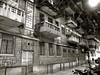 澳門 Macau (leo_li's Photography) Tags: 澳门 民居 黑白 nightscape bw macau macao 澳門