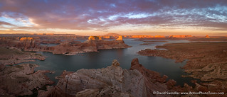 Pano Over Lake Powell