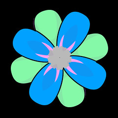flower 1276 icon (kwippe) Tags: icons clipart vector