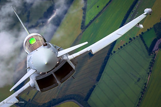 RAF Typhoon closing in... Have a great weekend!! © Nir Ben-Yosef (xnir)