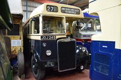 JOJ 245 (markkirk85) Tags: wythall transport museum bus buses leyland tiger ps21 weymann birmingham corporation new 81950 2245 joj 245 joj245