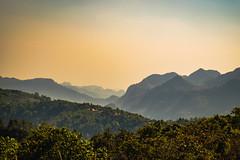 (Flutechill) Tags: mountain nature landscape hill forest outdoors scenics tree sky sunset asia fog sunrisedawn morning ruralscene dawn mountainpeak mist summer beautyinnature thailand chiangmai