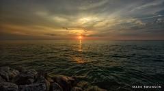 End of Light - Explore (mswan777) Tags: cloud lake michigan waves light peaceful quiet shore coast nikon d5100 sigma 1020mm seascape landscape expanse stevensville