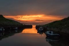 Seaton Sluice sunset (Jans Bartholomew) Tags: seatonsluice sunset