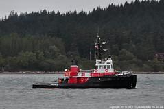 2017-06-15 Tug Seaspan Cutlass (1024x680) (-jon) Tags: anacortes fidalgoisland sanjuanislands skagitcounty skagit washingtonstate washington salishsea pnw pacificnorthwest pacifcocean pacifc ocean guemeschannel towboat tug tugboat ship boat vessel seaspan seaspancutlass imo7434781 mmsi316003666 cfn6638 vancouver bc canada a266122photographyproduction