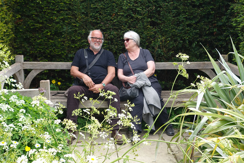 Linda & Alan at Great Dixter House & Garden, May 2017