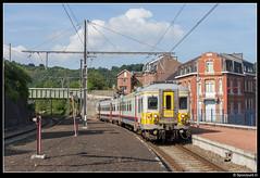 NMBS 659 - R 5008 (Spoorpunt.nl) Tags: 18 juni 2017 nmbs klassiek motorwagen ms66 659 stoptrein trein r 5008 station gare pepinster