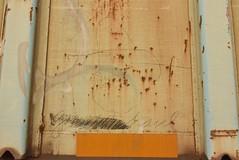 COR (TheGraffitiHunters) Tags: graffiti graff moniker streak markal freight train tracks benching benched hopper colossus roads cor ribbet