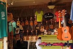 Kailua - Just Ukes (Drriss & Marrionn) Tags: bigisland hawaii usa outdoor coast kailuakona travel waterfront seaside guitar ukelele shop kamoaukelele uke musicinstrument music