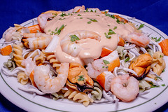 Restaurante La Muralla - Pasta con Verbena marisco