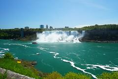 Niagara Falls in Spring (AncasterZ) Tags: falls waterfalls niagarafalls americanfalls cpl circularpolarizingfilter