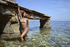 Beauté tropicale (Umbrella_Corp_06500) Tags: métisse diamond shoot beaulieu tourisme nikon3200 soleil shooting sexy tropicale beauté plage posing
