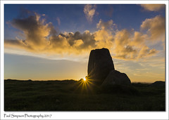 The Cockpit Sunset (Paul Simpson Photography) Tags: stonecircle thecockpit ullswater cumbria lakedistrict sunset paulsimpsonphotography imagesof imageof photoof photosof sonya77 clouds standingstone standingstones may2017