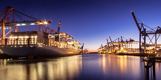Port of Hamburg...