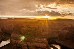 Sunset @ HB (jde95tln) Tags: horseshoe bend page az sunset clouds exploring explore nature