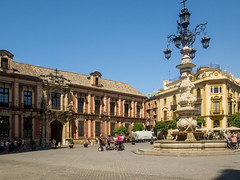 Ayuntamiento de Sevilla, Seville (mister_wolf) Tags: ayuntamientodesevilla cityhall sevilla seville spain andalucía