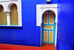 MAROCO 01-2015 021 (Elisabeth Gaj) Tags: maroco012015 elisabethgaj afryka architecture window door travel marracech