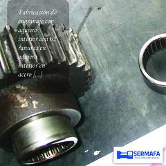 Fabricación de engranaje (SERMAFA) Tags: fabricación engranaje agujero mecanizado torno sermafa