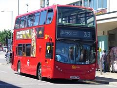 London General VE3 (LX58CWM) - 03-06-17 (peter_b2008) Tags: goaheadgroup goaheadlondon londongeneral alexanderdennis adl enviro400 volvo b9tl ve3 lx58cwm buses coaches transport buspictures