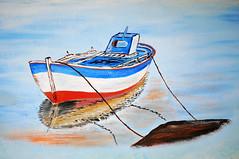 Wall painting in a taverna near Nas beach, Ikaria / Greece (ANJCI ALL OVER) Tags: greece greekislands ikaria aegean ελλάδα ελληνικάνησιά ικαρία αιγαίο northaegean