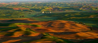 Sunrise Palouse Panorama