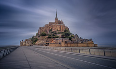 Mont-Saint-Michel (Alex Lud) Tags: alexlud montsaintmichel normandy normandie france tourism church village outdoor europer french north clouds d810 nikon 2470 cityscape panorama