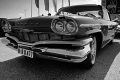 Dodge Polara (Miguel Angel Prieto Ciudad) Tags: show automotive car drive fast speed usa monochrome sony wheel blackandwhite vehicle classic exhibition chrome coupe engine dodge headlight roadster convertible sedan sonyalpha transportation system