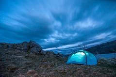 Camping at Loch Assynt 2 (Tomasz Urbaszek) Tags: scotland highlands photostrider phototrip nikon d90 primes travel journey landsape longexpousure benro tokina116 wideangle