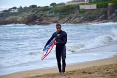 Préparation... (LefebvreK53) Tags: skim skimboard sport aquatique planche sable mer