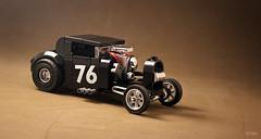 Dai de roşu, da' n-ai frână pe roţi! (_Tiler) Tags: lego car vehicle hotrod drag dragrod race racer