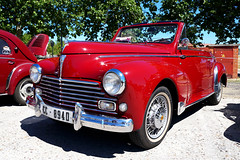Peugeot 203 Cabriolet (Miguel Angel Prieto Ciudad) Tags: peugeot car cars coche vintage classiccar old france red sony sonyalpha
