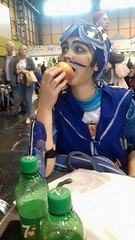 Sports candy (Fablesandzombies) Tags: sportacus cosplay sportacuscosplay lazytown lazytowncosplay apple collectormania collectormania24