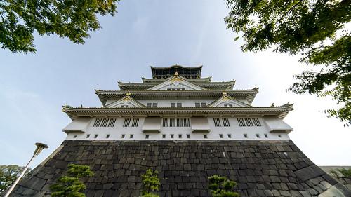 Majestic Osaka Castle...