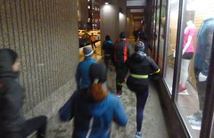"Running Room (Slater St) February 1, 2017 - P1080273 (ianhun2009) Tags: runningroom ottawaontariocanada winterrunning ""february1 2017"" ""running room slater street"" ""run club"" training run"" ""cold running"""